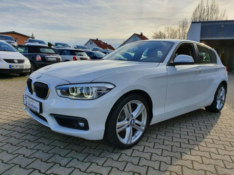 BMW 118i Advantage Steptronic / Alu/ LED / EURO 6