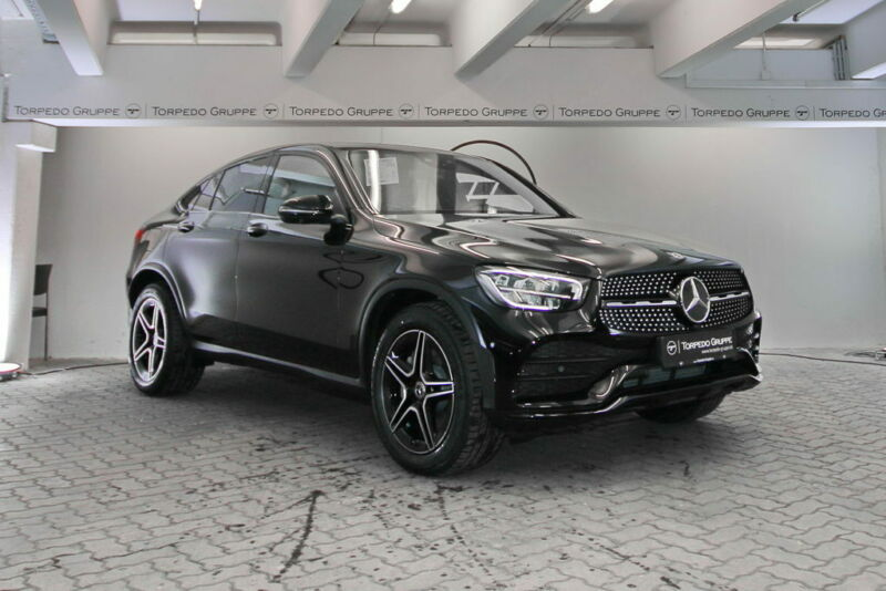 Mercedes-Benz GLC 400 d 4M COUPÉ AMG LED+NIGHT+NAVI+WIDESCREEN