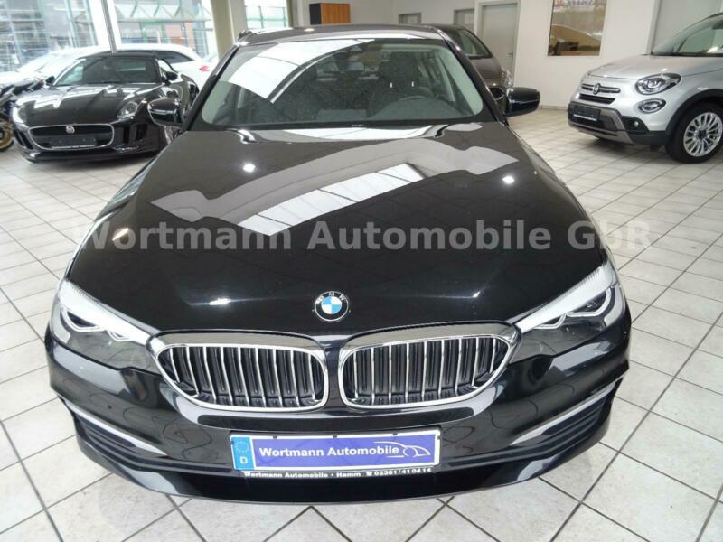 BMW Baureihe 5 Lim. 520i LED Navi Leder E6dTemp