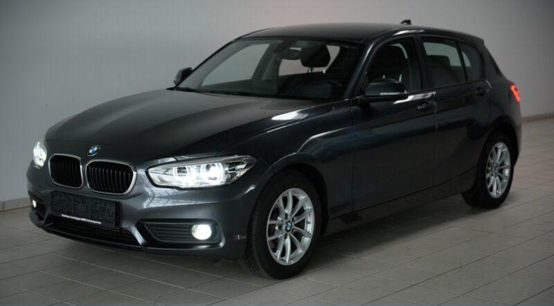 BMW 116d Aut. M-Lenkrad Navi LED ONLINE-KAUF