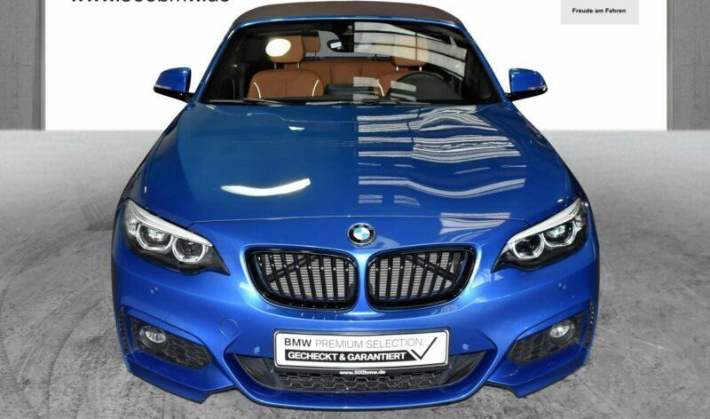 BMW 218d Cabrio EURO6 M Sport HK HiFi DAB LED Navi B