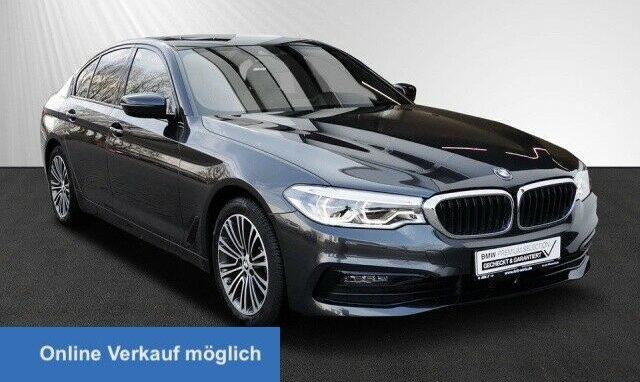 BMW 520i Sport Komforts. + Lüft. AHK DA+ GSD HUD