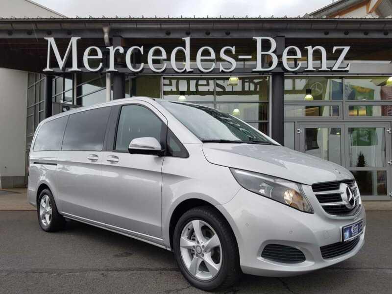 Mercedes-Benz V 220d Lang+7G+8-SITZE+NAVI+BT+ PARK+KAMERA+17′