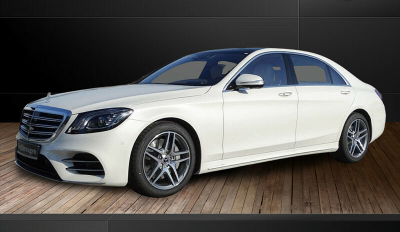 Mercedes-Benz S 400 d lang AMG +Panorama+Head-up+360°+Distroni