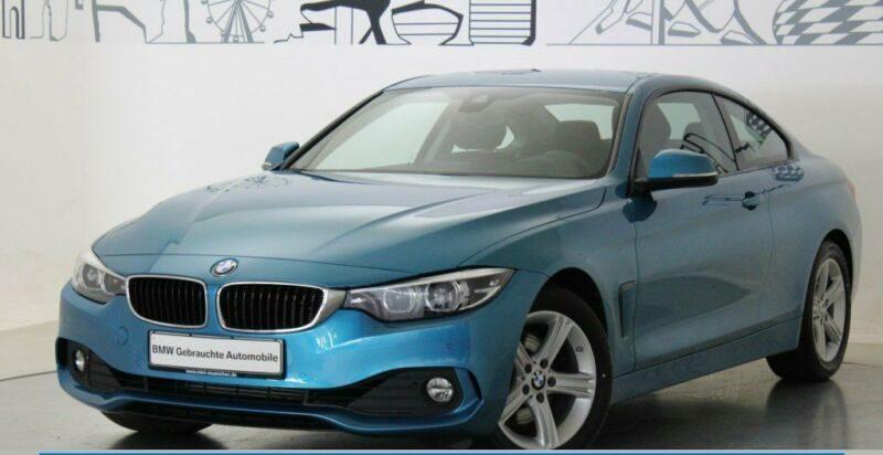 BMW 430d Coupé Advantage Head-Up HiFi Navi Prof. EUR