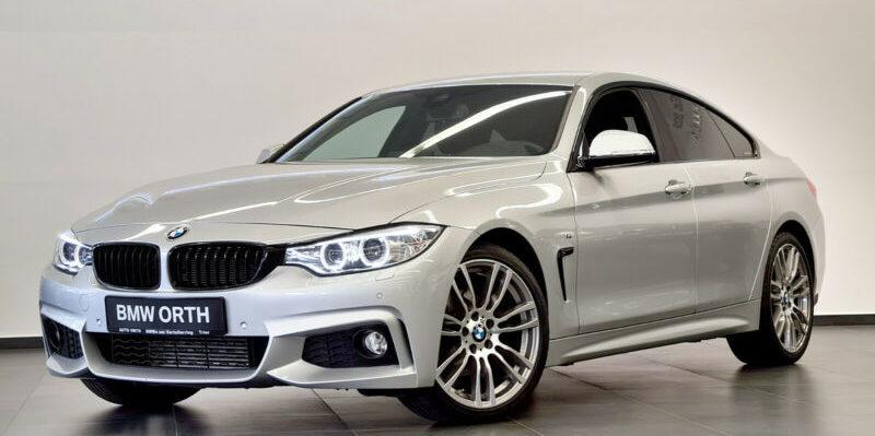 BMW 420d Gran Coupé Sport-Aut. M-SPORTPAKET NAVI-PRO