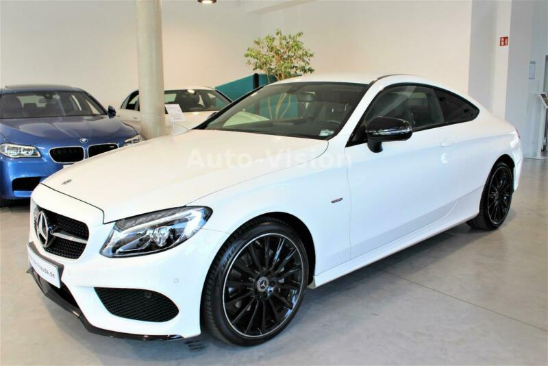 Mercedes-Benz C 200 Coupe Night Edition AMG Line