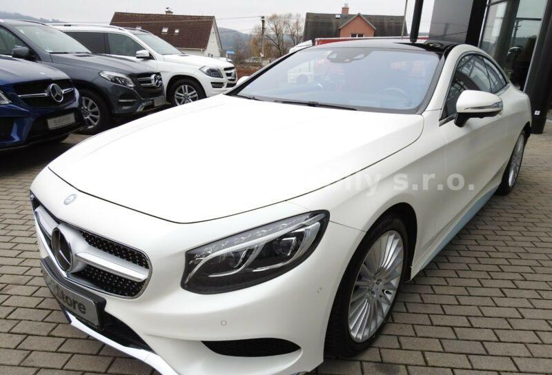 Mercedes-Benz S 500 Coupé 4MATIC AMG *Exclusive *360°