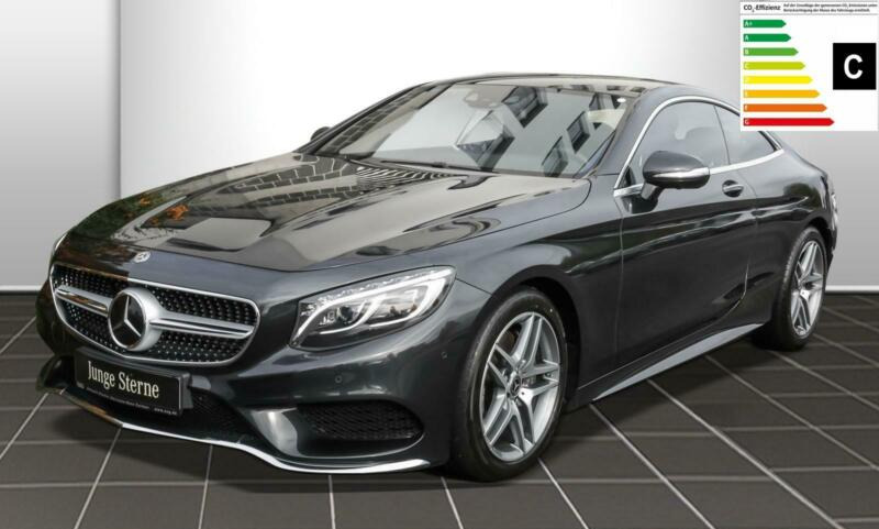 Mercedes-Benz S 400 Coupé 4M AMG line Burmester/Sitzklima/360K