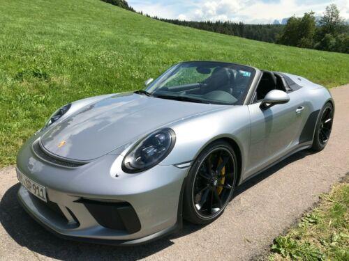 Porsche 911 Speedster Exclusive Manufaktur Silver/Black