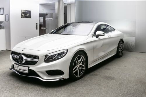 Mercedes-Benz S 500 COUPE 4MATIC AMG-LINE NP:159T€ / HEAD-UP