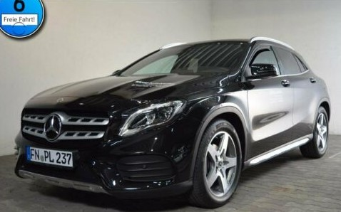 Mercedes-Benz GLA 200 AMG-Line AUTOM.+LED+NAVI+PDC+SHZ+KEYLESS