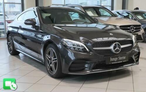 Mercedes-Benz C 200 AMG Coupé Navi AHK LED Kamera Parktronic